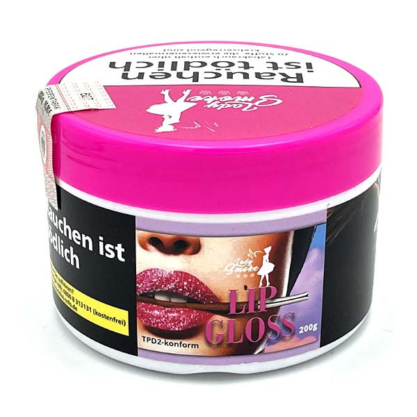 Lady Smoke Lip Gloss 200g Shisha Tabak