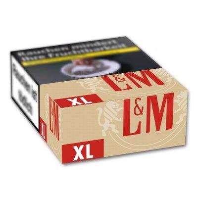 L&M Simply Red ohne Zusätze XL (8x22)