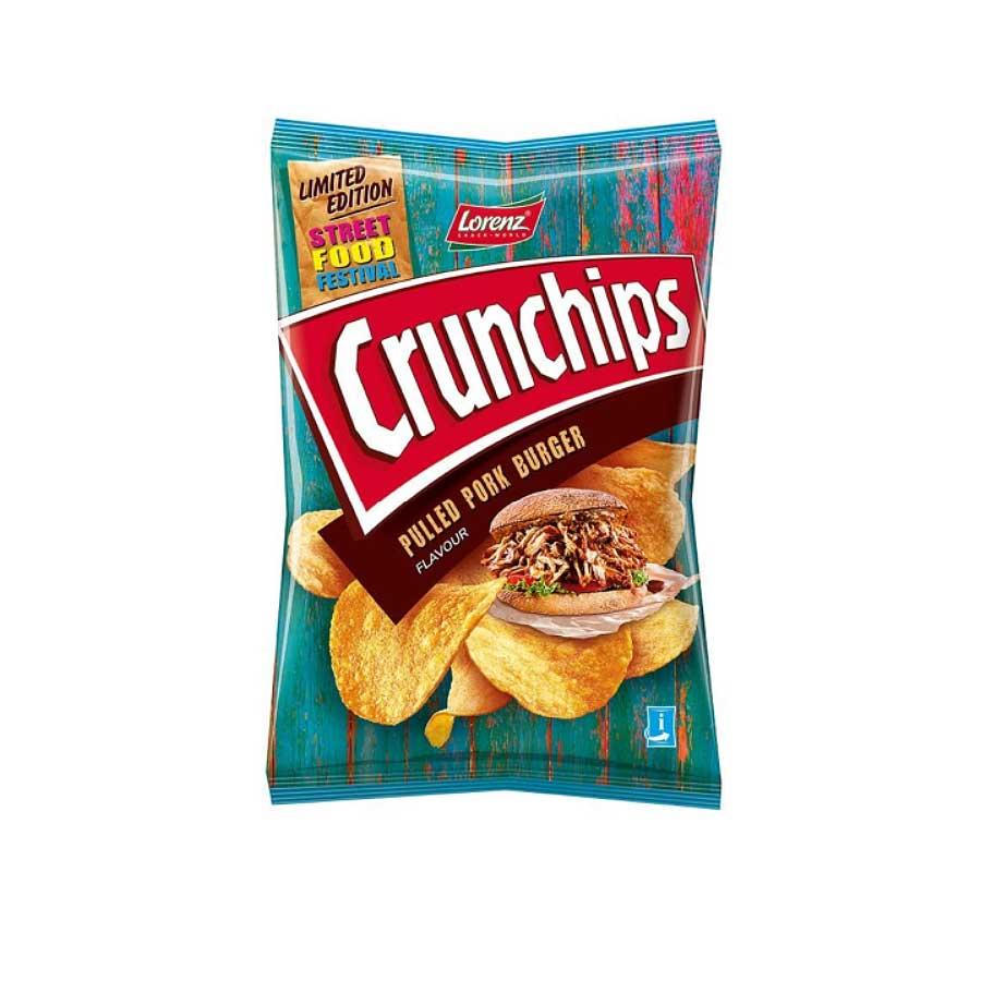 Lorenz Crunchips Pulled Pork 150g Chips Tüte