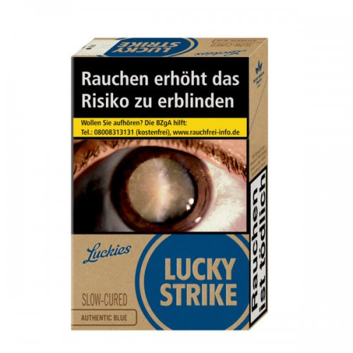 Lucky Strike Authentic Blue (10x20)