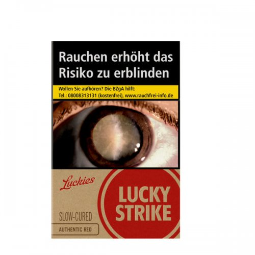 Lucky Strike Authentic Red (10x20)