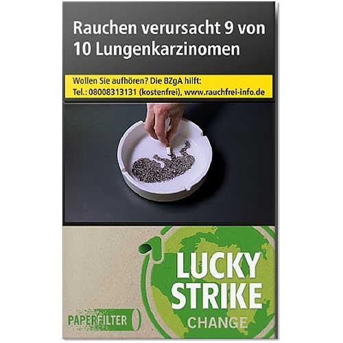 Lucky Strike Change Green (10x20) Zigaretten