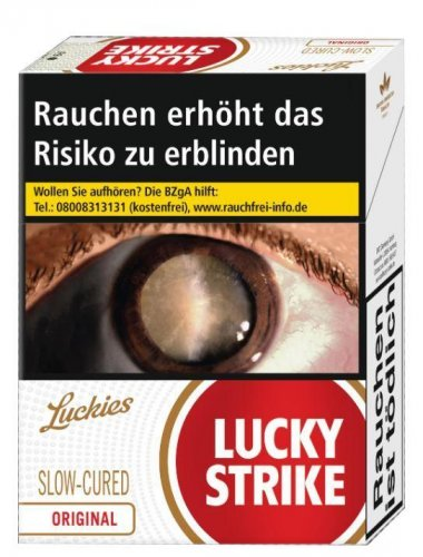 Lucky Strike Red Original Jumbo (6x47)