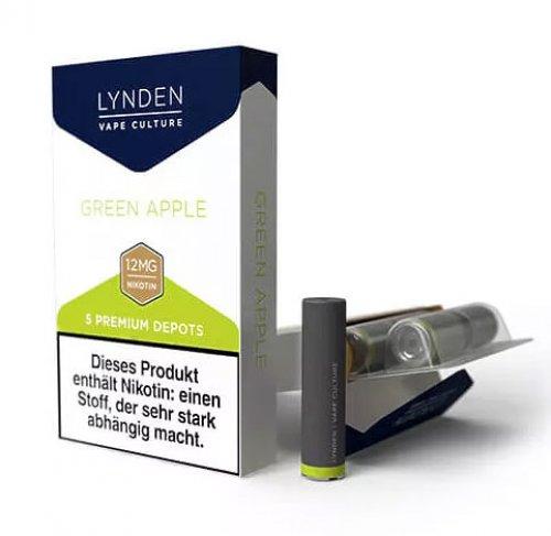 LYNDEN Depots Green Apple Medium 12 mg Nikotin