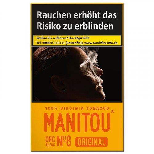 Einzelpackung Manitou ohne Zusätze ORG Blend No.8 Gold (1x20)