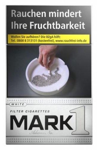 Einzelpackung  Mark Adams No.1 White (1x20)