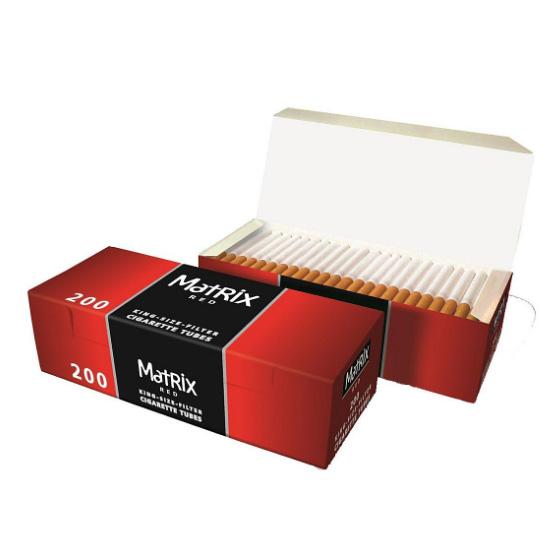 Matrix Red Zigarettenhülsen
