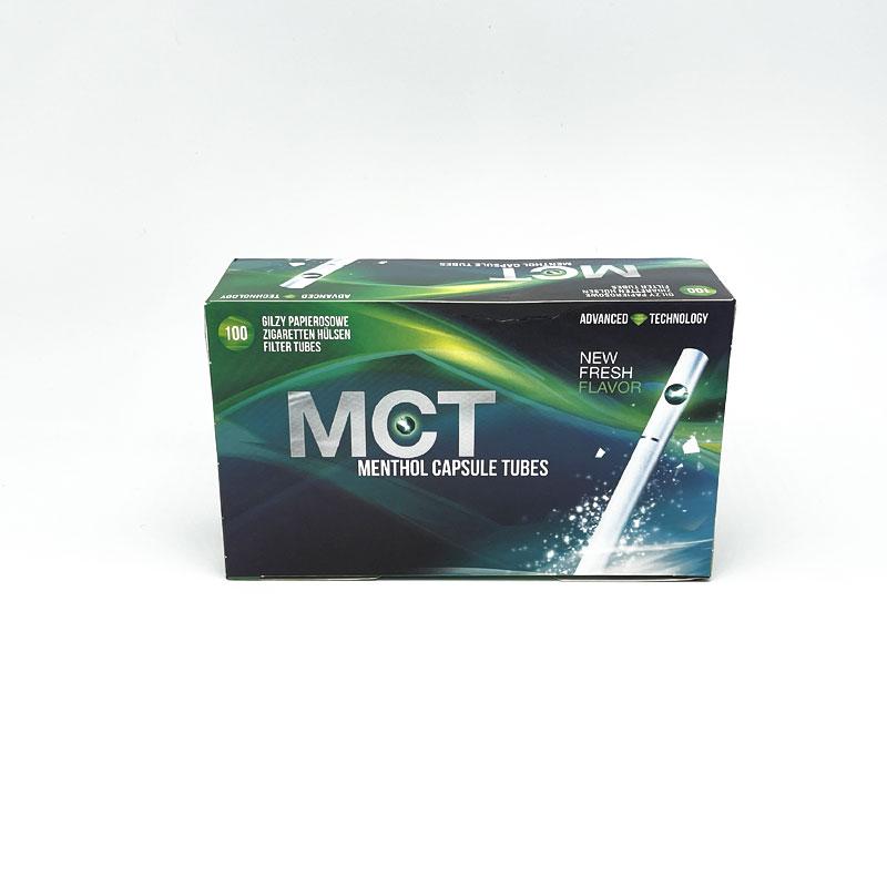 MCT Zigarettenhülsen Menthol 100 Stück