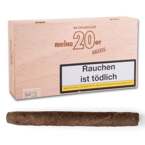 Meine 20er Brasil Zigarillos
