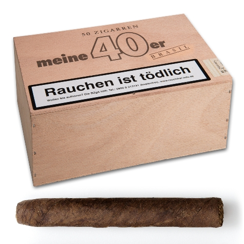 Meine 40er Brasil Zigarren