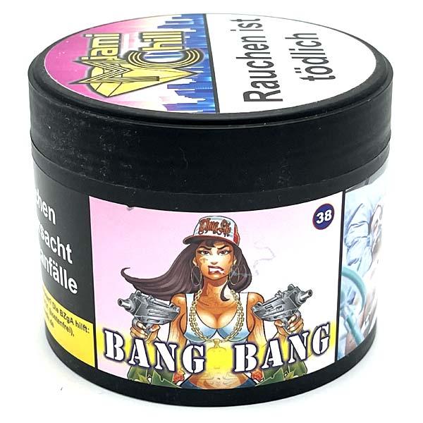 Miami Chill 38 Bang Bang 200g Shisha Tabak