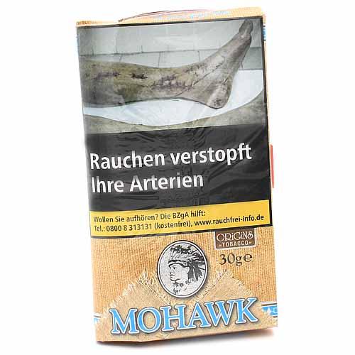 Mohawk Tabak ohne Zusätze Origins Tobacco 30g Pouch Feinschnitt