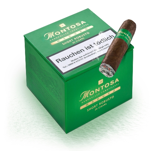 Montosa Maduro Short Robusto Zigarren 20 Stück