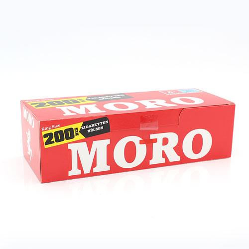 Moro King Size Zigarettenhülsen 200 Stück
