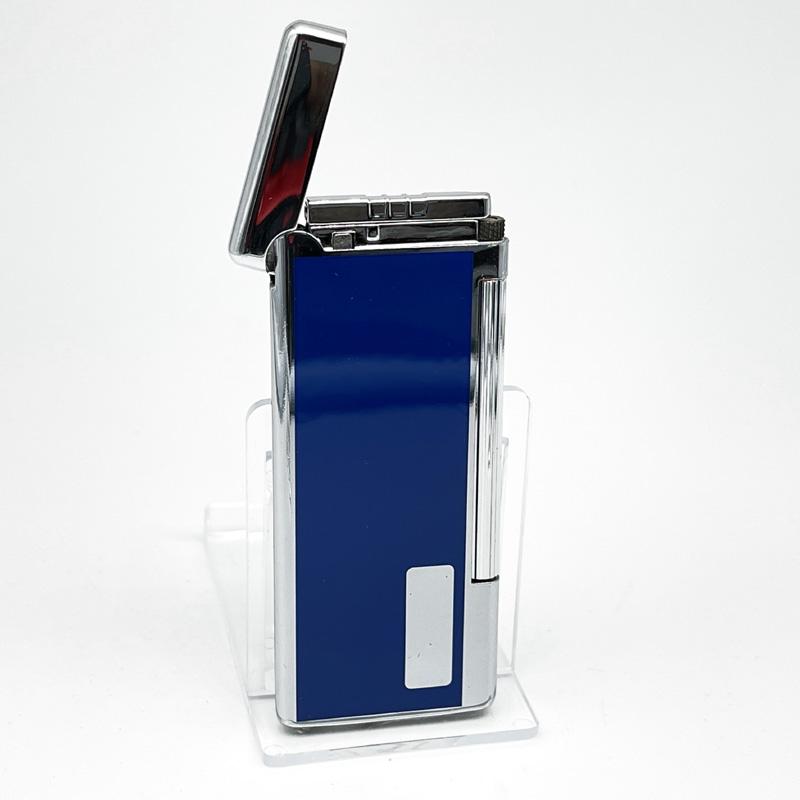 Myon Flat Pipe Steinfeuerzeug blau
