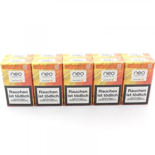 neo Coral SwitchTobacco Sticks für Glo