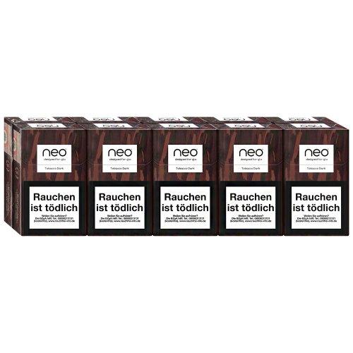 neo Dark Tobacco Sticks für Glo (10x20)