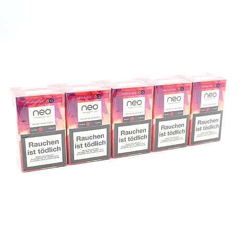 neo Vibrant Velvet Switch Tobacco Sticks für Glo (10x20)