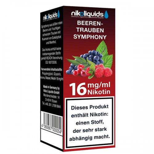 Nikoliquids Beeren Trauben Symphony 16 mg Nikotin