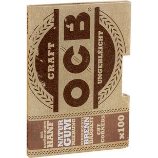 OCB Craft Ungebleicht Zigarettenpapier 100 Blättchen