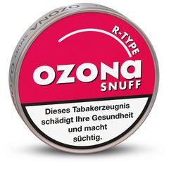 Ozona R-Type Snuff (Raspberry) 5g Dose Schnupftabak