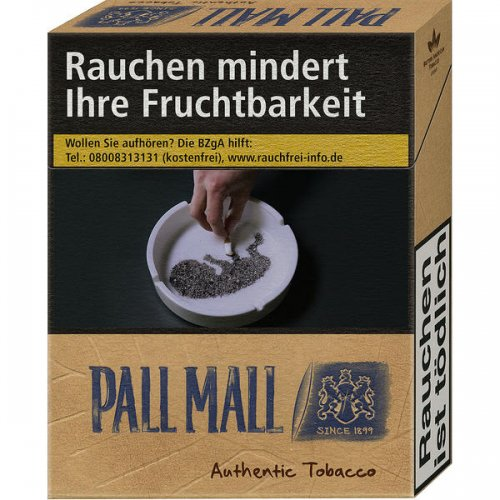 Pall Mall Authentic Blau ohne Zusätze (10x20)