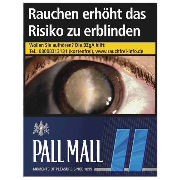 Pall Mall Blau Giga (8x30) Zigaretten