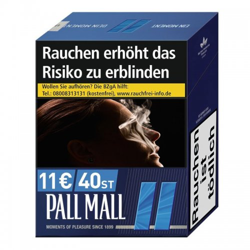 Pall Mall Blau XXXXL (5x37)