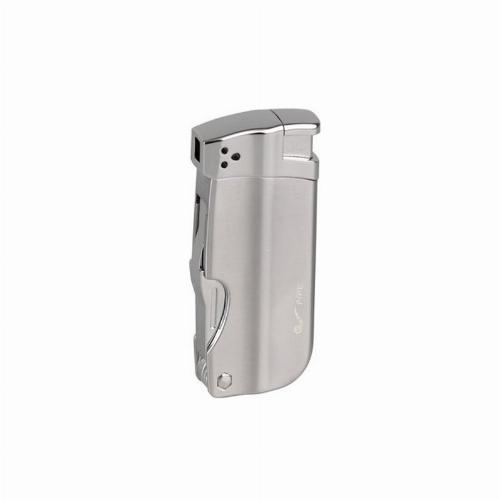Passatore Pfeifenfeuerzeug titan mit Pfeifenbesteck