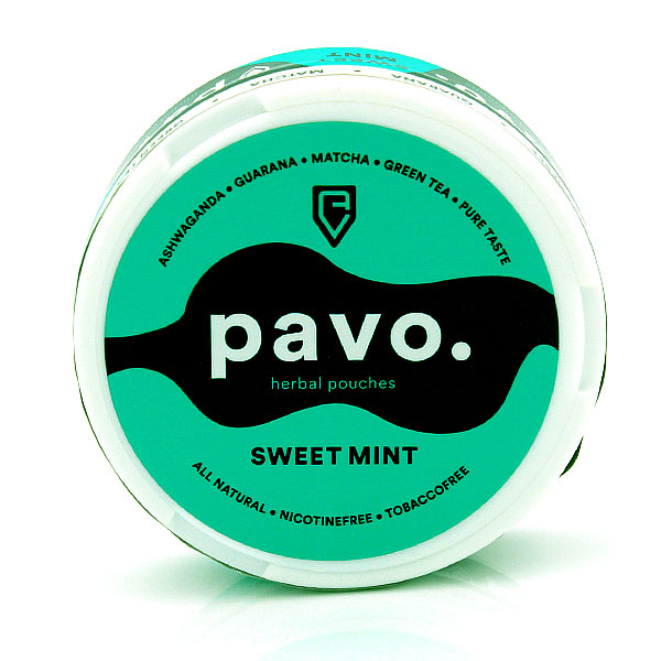 Pavo Sweet Mint Herbal Pouches