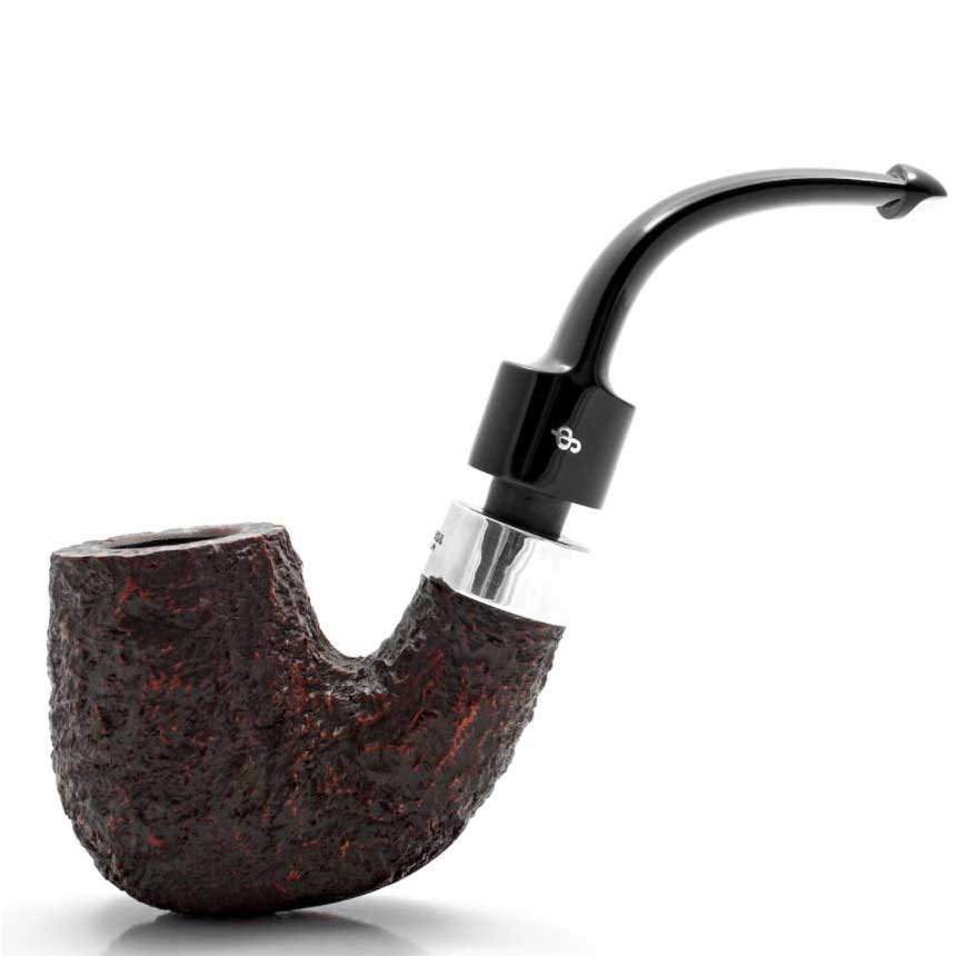 Peterson Pfeife House Pipe Rustic Bent