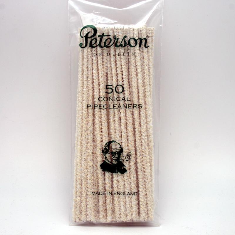 Peterson Pfeifenreiniger, Baumwolle, 50 Stück