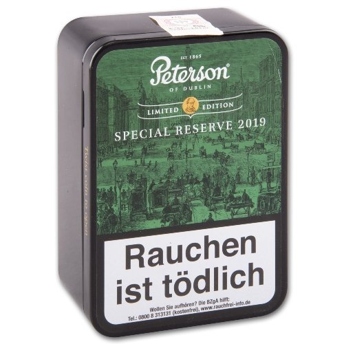 Peterson Special Reserve 2019 Pfeifentabak