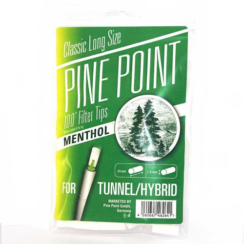Pine Point Menthol Filter Tips 100 Stück