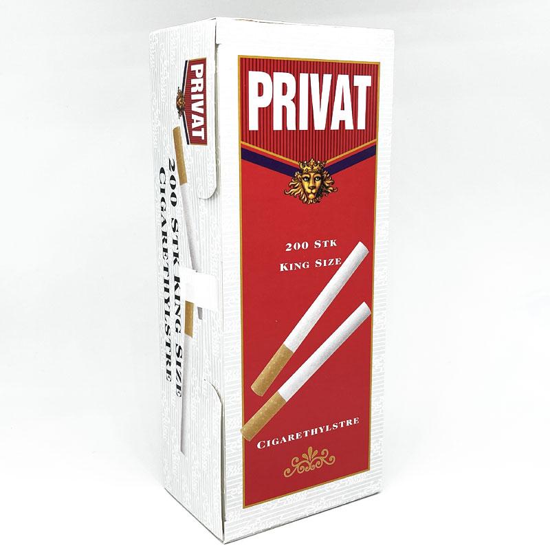 Privat King Size Zigarettenhülsen 200 Stück