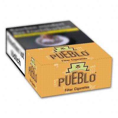 Pueblo  Orange ohne Zusatzstoffe (10x20)