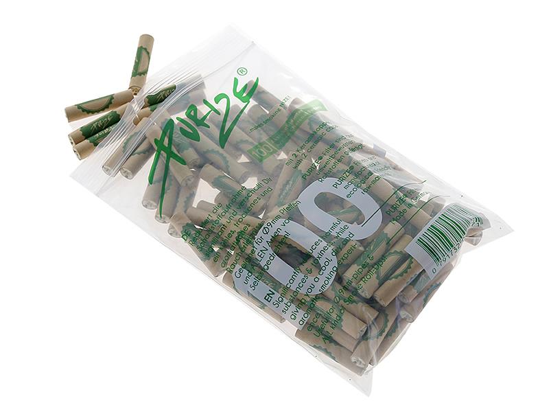 Purize Aktivkohle Organic Regular Size 9 mm Zigarettenfilter 100 Stück