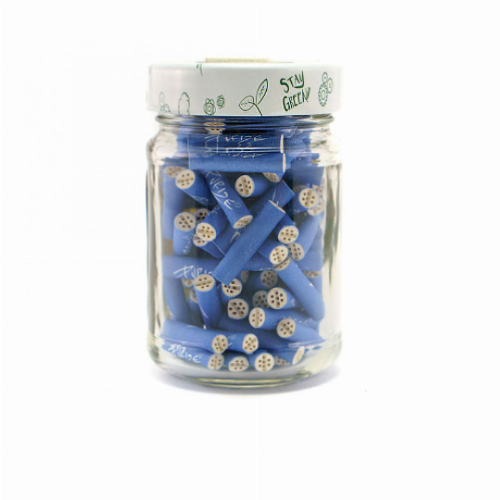 Purize Aktivkohlefilter 5,9mm Blau im Glas 100Stk.