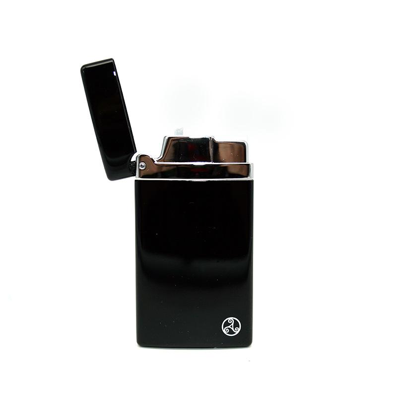 Rattrays Feuerzeug Alfie Black, elektronisch
