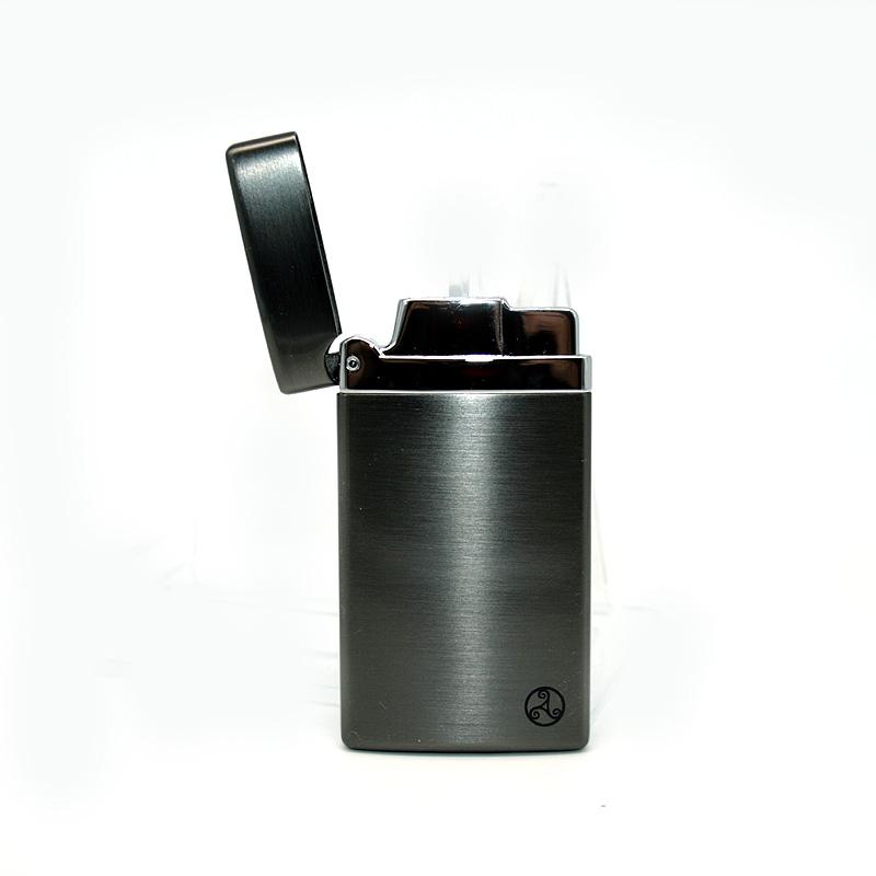 Rattrays Feuerzeug Gunmetal Satin, elektronisch