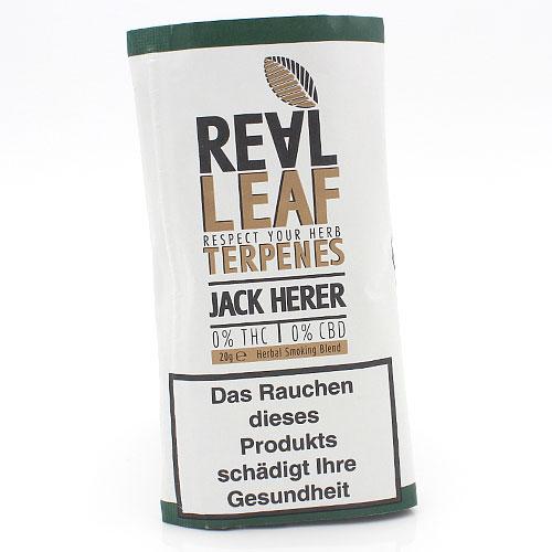Real Leaf Jack Herer 20g Kräutermischung 0% Nikotin