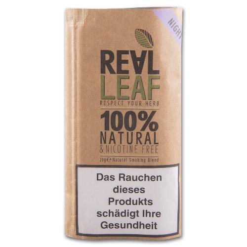 Real Leaf Night 20g Kräutermischung 0% Nikotin