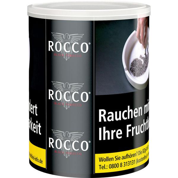 Rocco Tabak Black (ehem. Zware) 130g Dose Feinschnitt