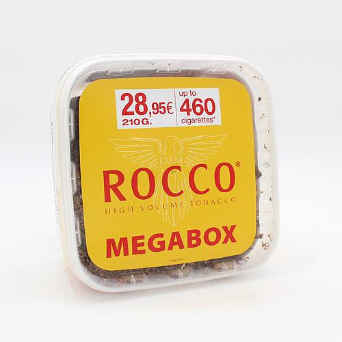 Rocco Tabak Gelb High Volumentabak Megabox 210g Eimer