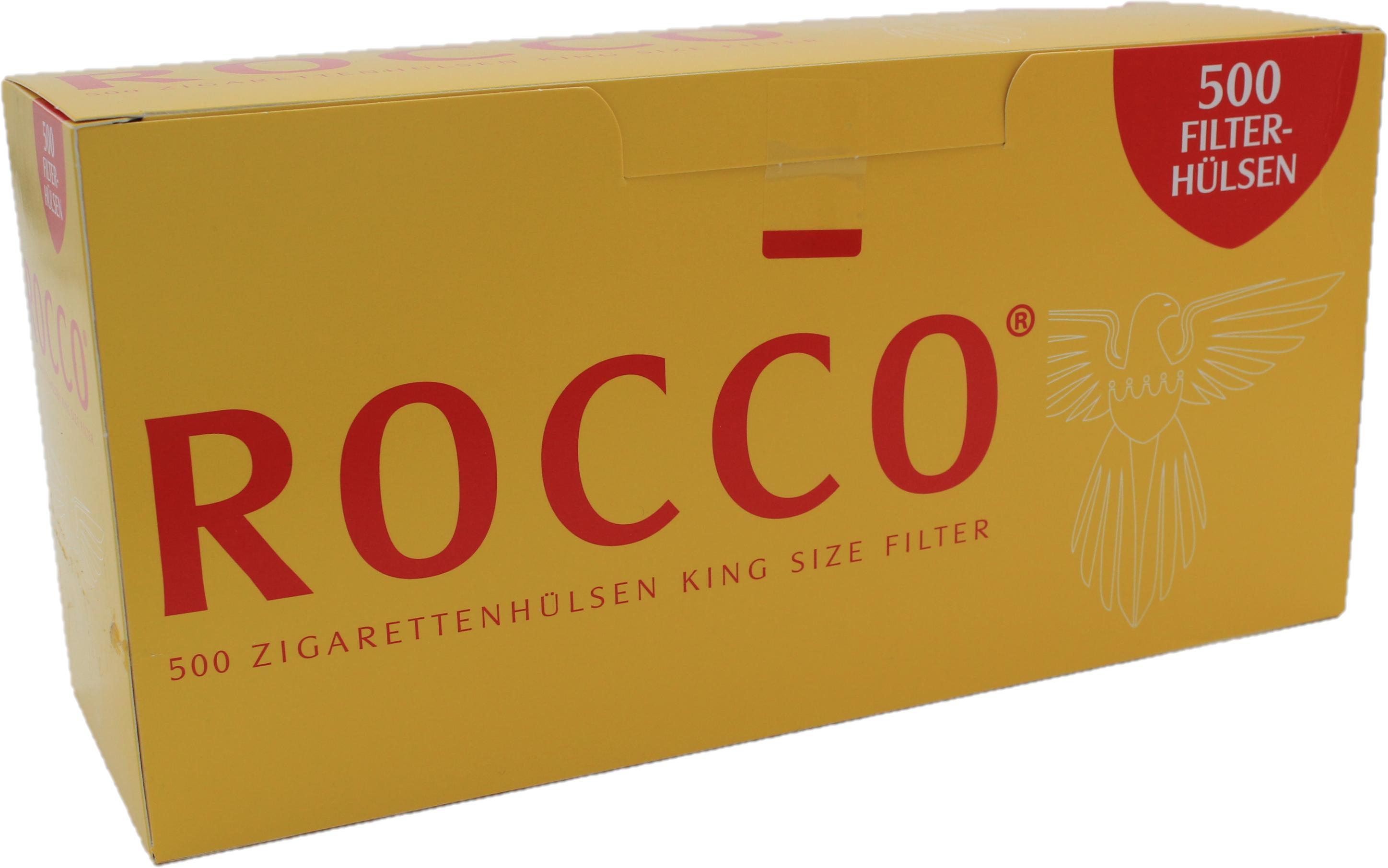 Rocco Zigarettenhülsen 500 Stück