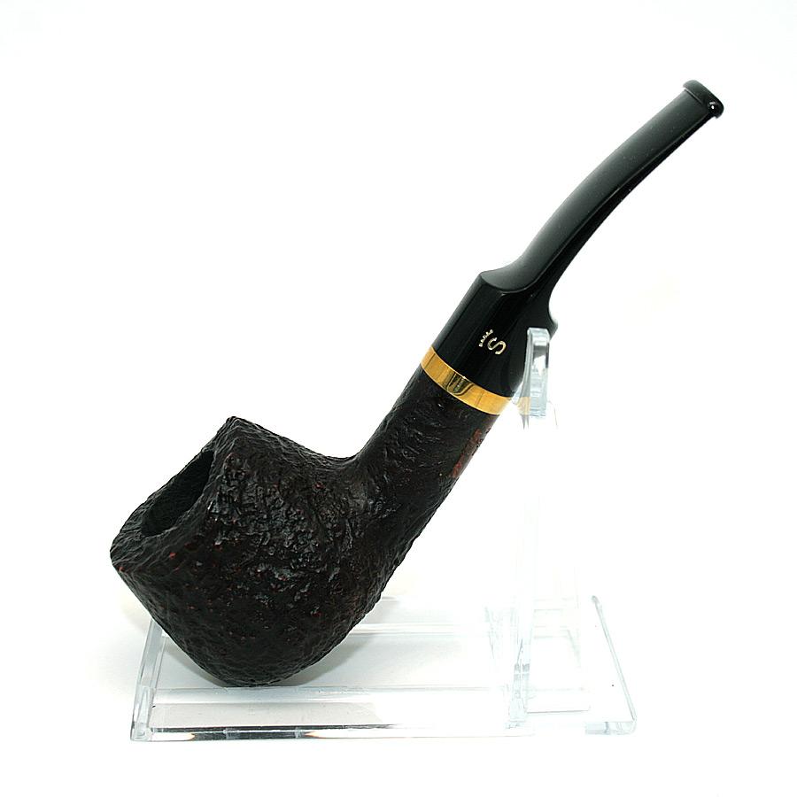 Stanwell Pfeife De Luxe Black 11/9 sandgestrahlt