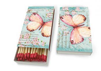 Lange Streichhölzer Schmetterling
