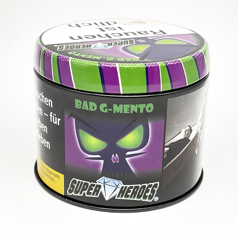 Super Heroes Bad G-Mentho 200g Shisha Tabak