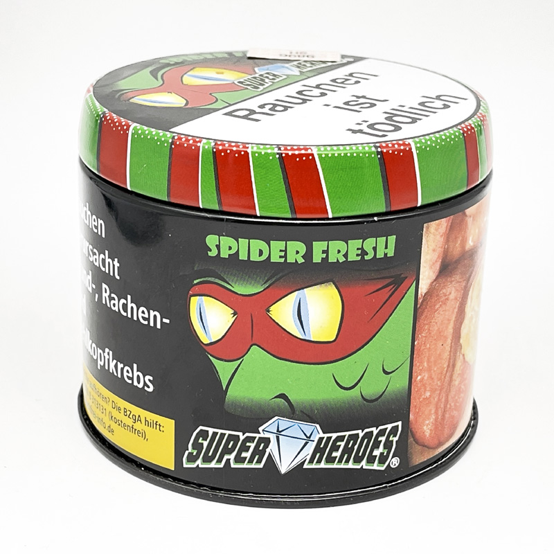Super Heroes Spider Fresh 200g Shisha Tabak