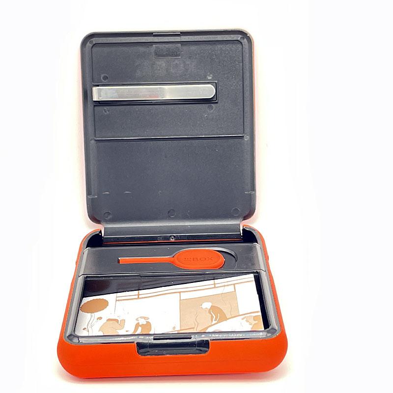 Tabaketui ToBOX Aufbewahrung orange